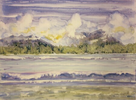 Clouds over Clayoquot